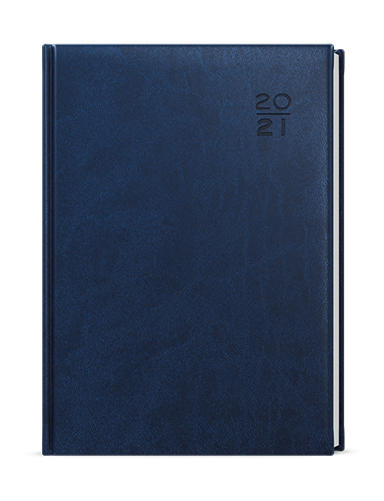 Týdenní diář - Oskar - vivella - A5 -  modrá, BALOUŠEK, BTO6-1