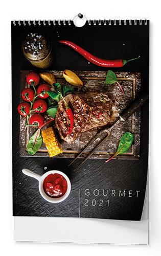 Nástěnný kalendář A3 - Gourmet, BALOUŠEK, BNG11