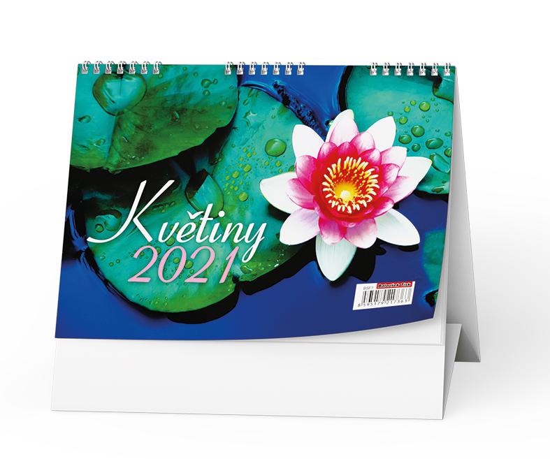 Stolní kalendář - Květiny, BALOUŠEK, BSF7