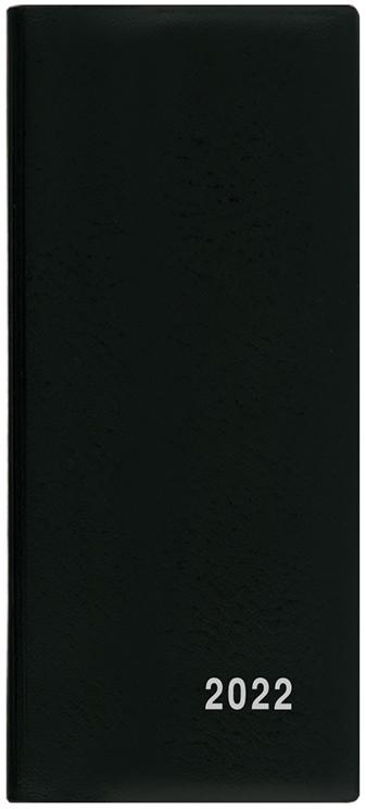 Měsíční diář - Xenie - PVC - černá