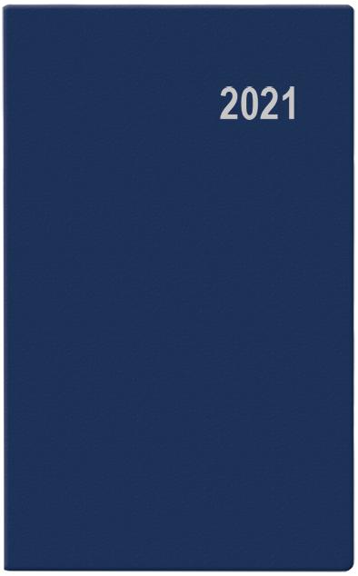 Měsíční diář - Diana - PVC - modrá, BALOUŠEK, BMD1-1