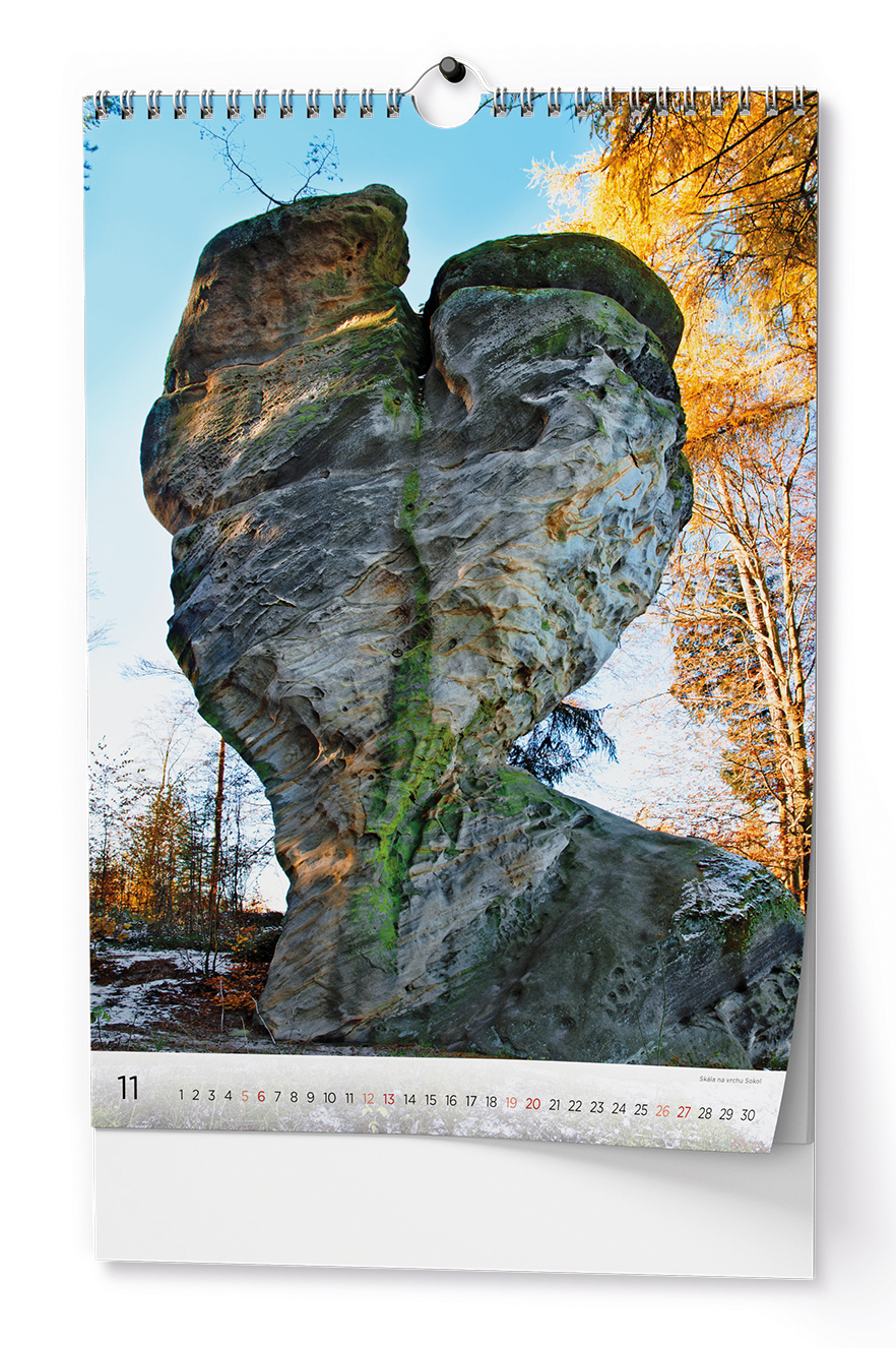 Nástěnný kalendář A3 - Český ráj