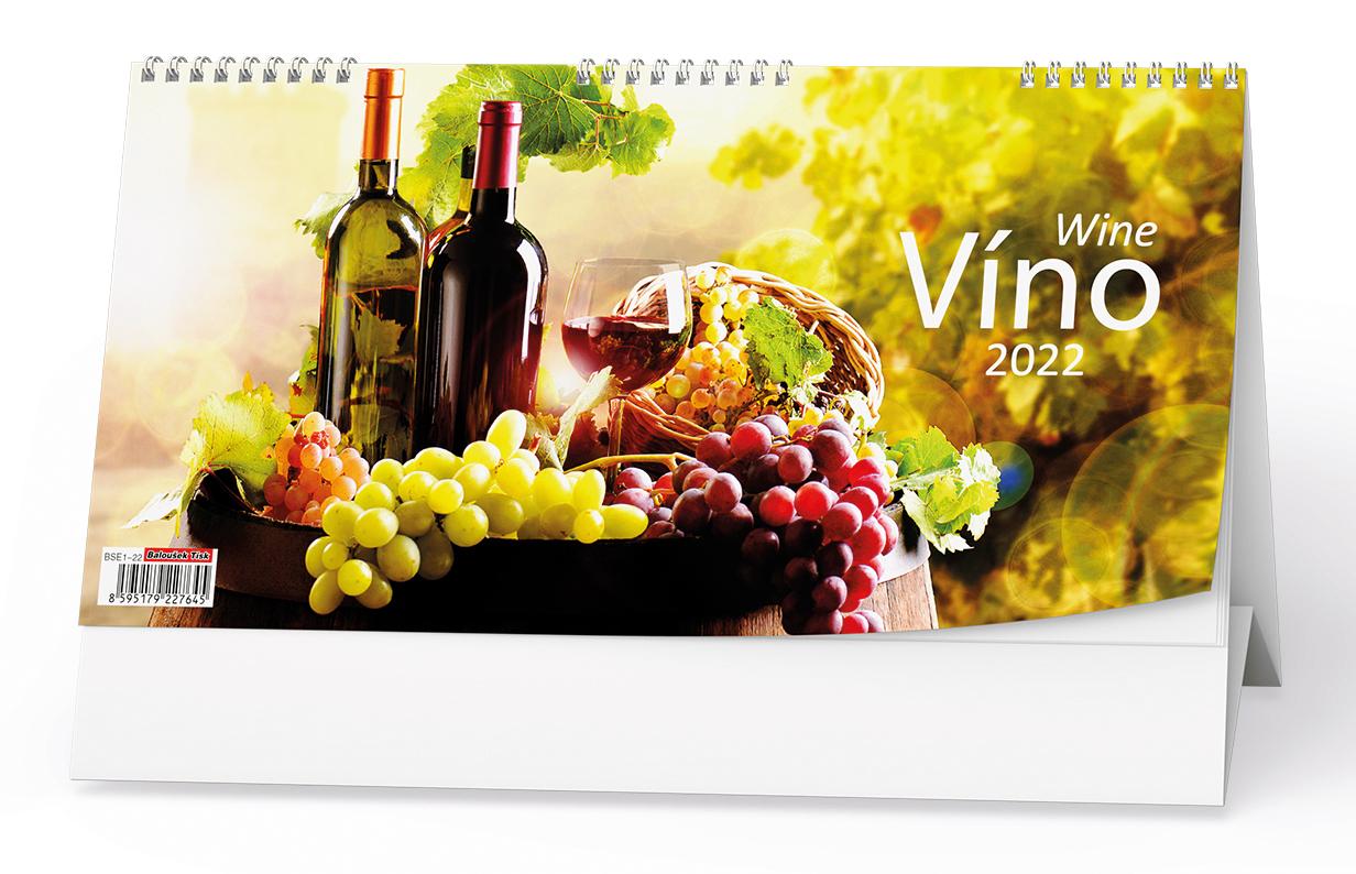 Stolní kalendář - Víno