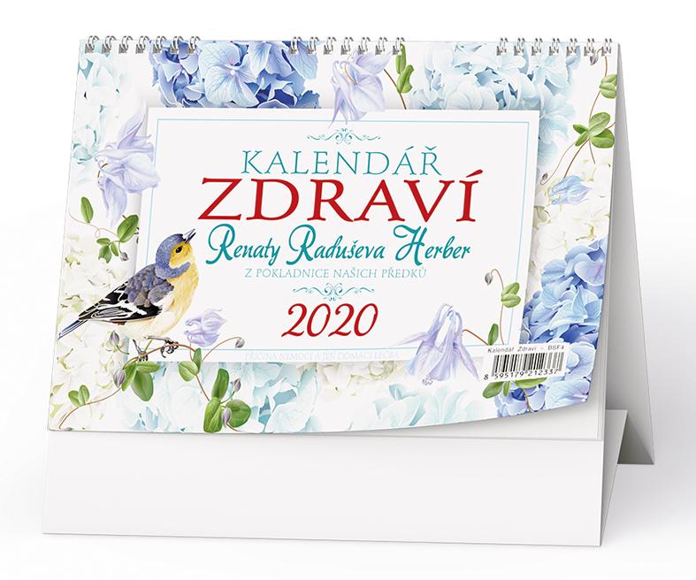 Stolní kalendář - Kalendář zdraví  Renáty Herber