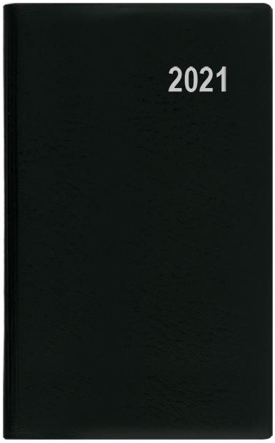 Měsíční diář - Diana - PVC - černá, BALOUŠEK, BMD1-2