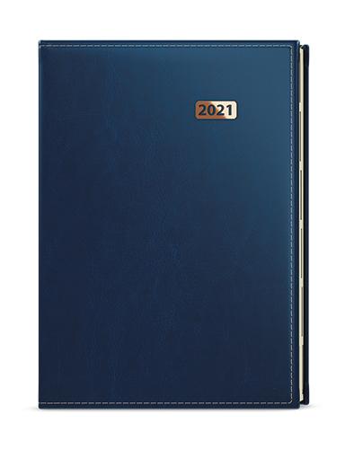 Denní diář - Ctirad výsek  - premier - A5 - modrá, BALOUŠEK, BDCk17-1