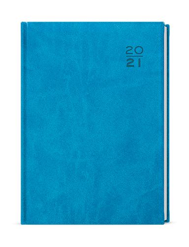 Týdenní diář - Oskar - vivella - A5 - světle modrá, BALOUŠEK, BTO6-11