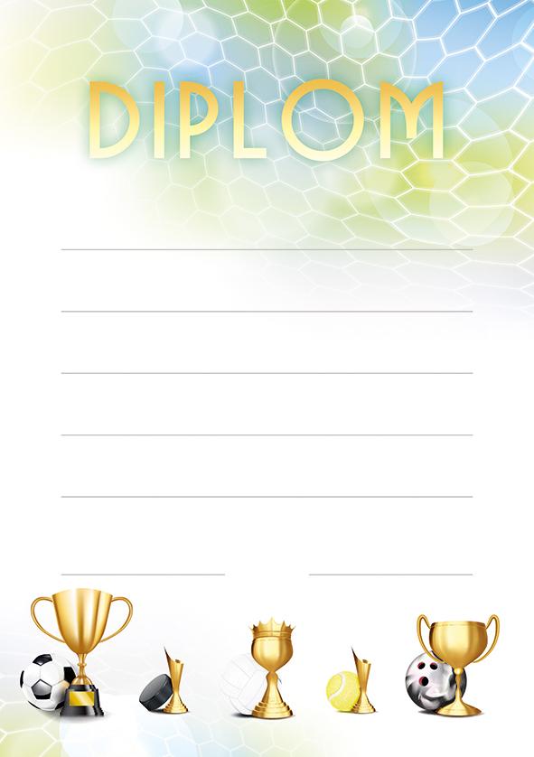 Diplom A5 Sportovní hry