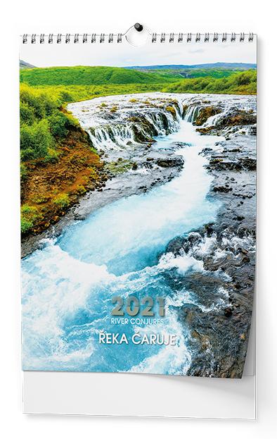 Nástěnný kalendář A3 - Řeka čaruje, BALOUŠEK, BNK6