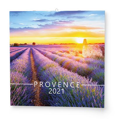 Nástěnný kalendář - Poznámkový - Provence, BALOUŠEK, BNL5