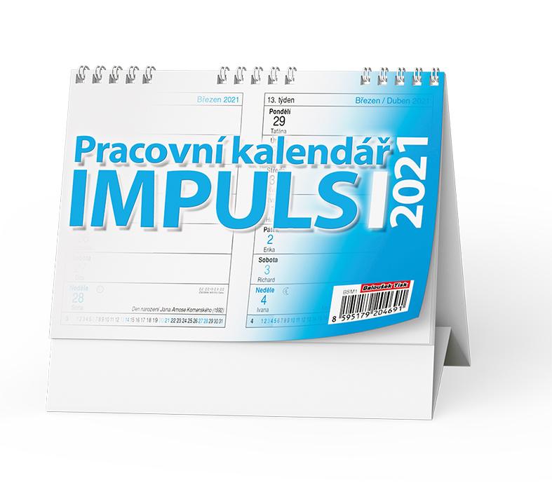 Stolní kalendář - Impuls I., BALOUŠEK, BSM1