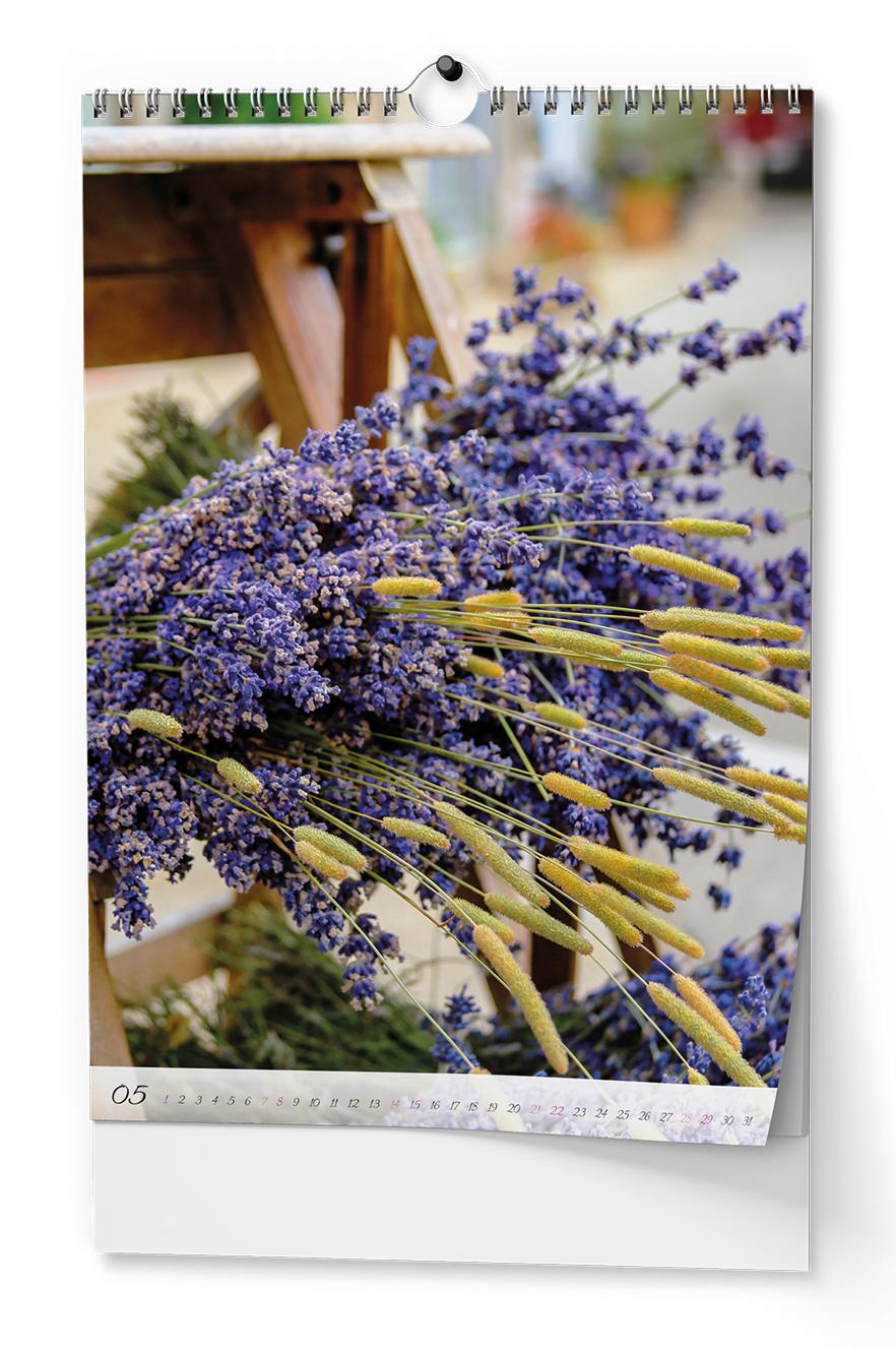 Nástěnný kalendář A3 - Voňavá levandule