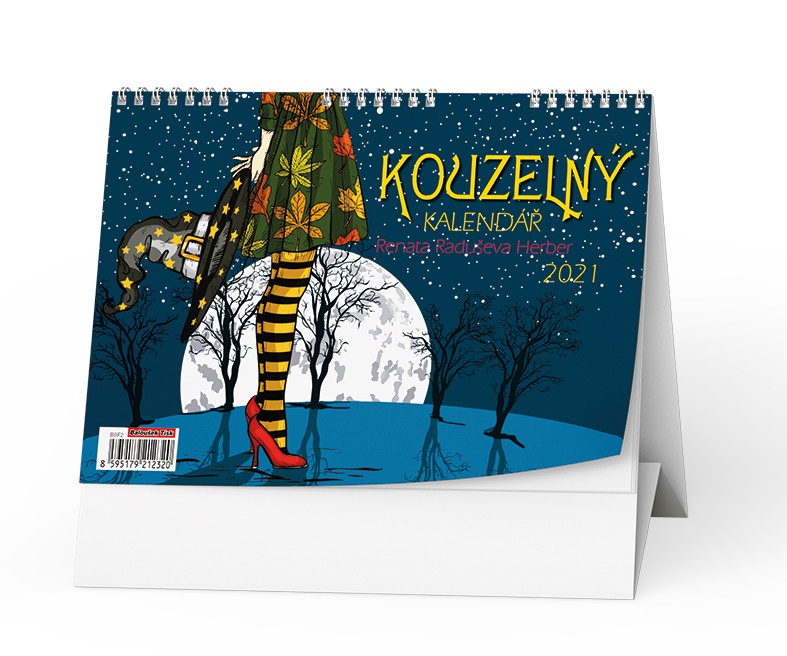 Stolní kalendář - Kouzelný kalendář Renáty Herber, BALOUŠEK, BSF2