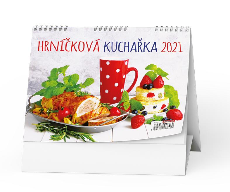 Stolní kalendář - Hrníčková kuchařka, BALOUŠEK, BSD7