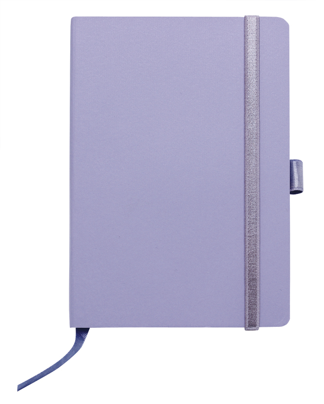 Notes linkovaný s kapsou - A5 - lila