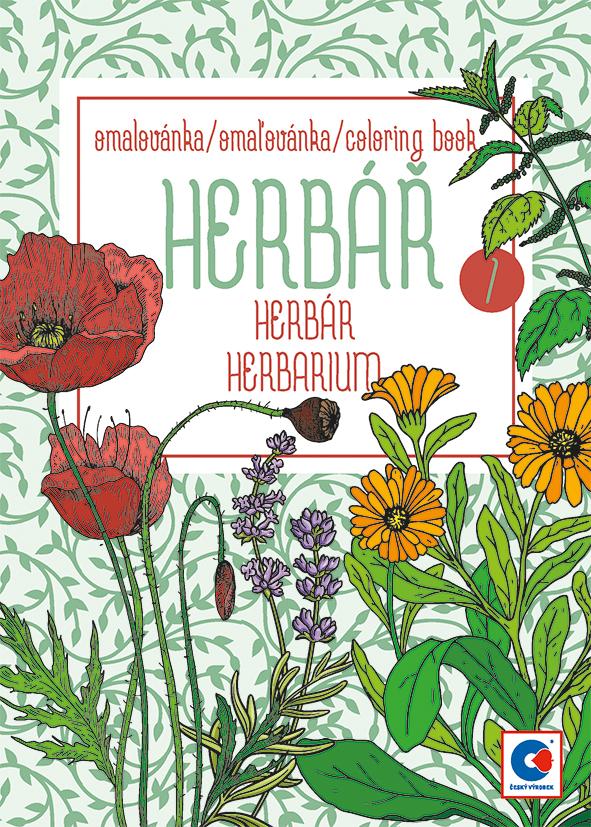 Omalovánka A5 - Herbář I.