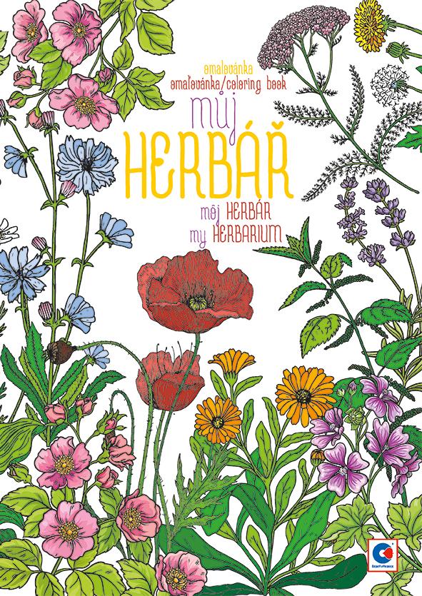 Omalovánka A4 - Můj herbář