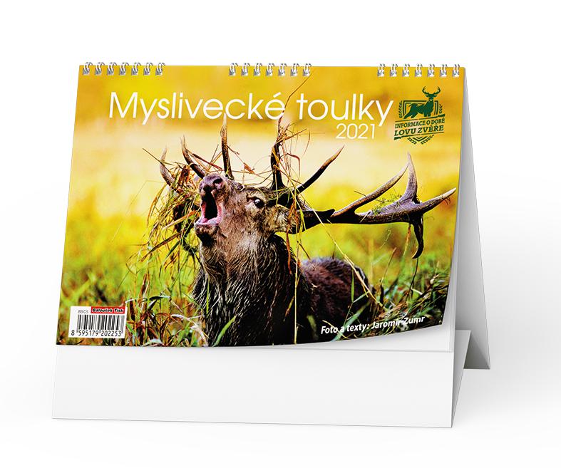 Stolní kalendář - Myslivecké toulky, BALOUŠEK, BSC5