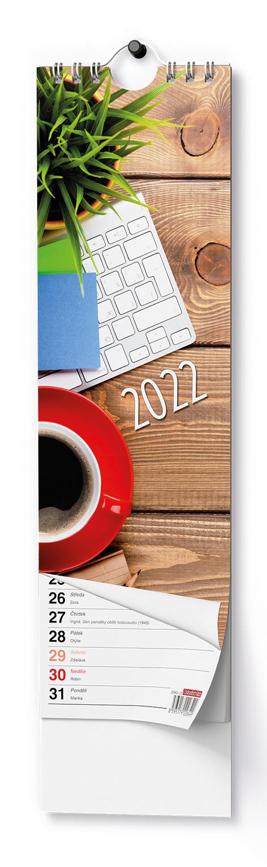 Nástěnný kalendář - Kravata - Pracovní