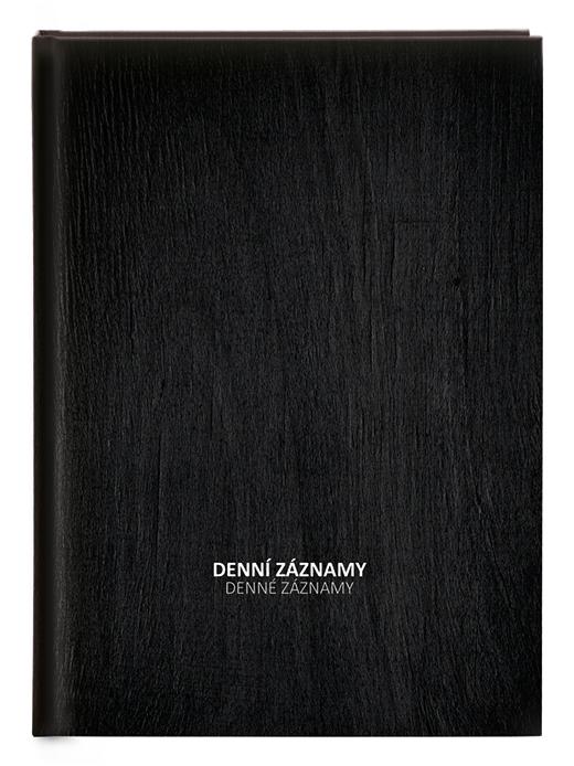 Denní záznamy - A4 - lamino - Černý