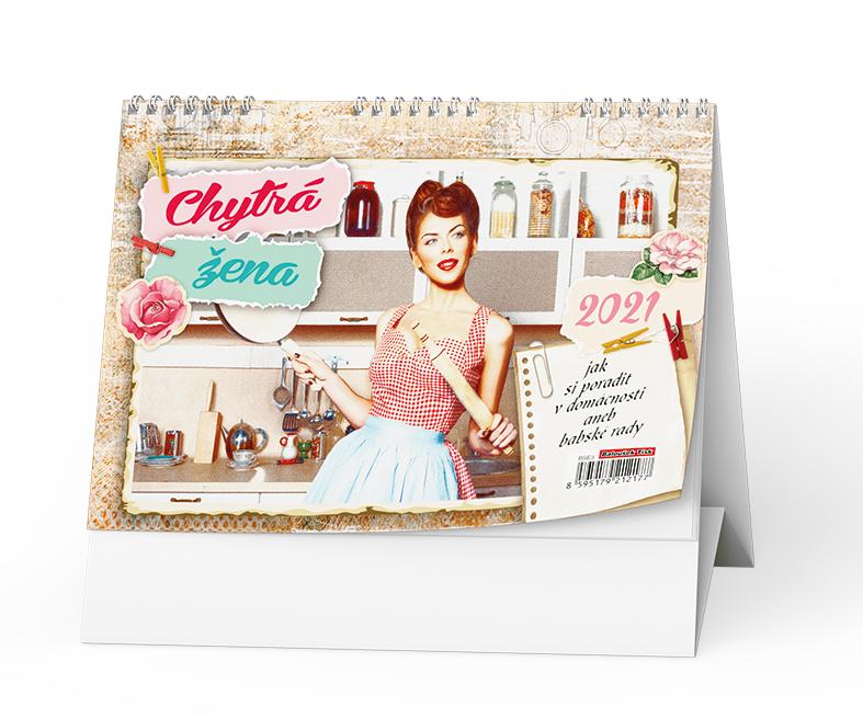 Stolní kalendář - Chytrá žena, BALOUŠEK, BSE3