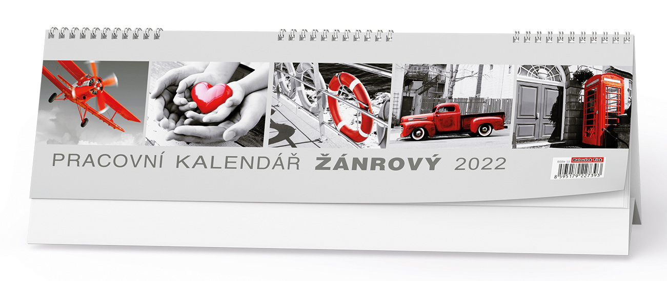 Stolní kalendář - Žánrový