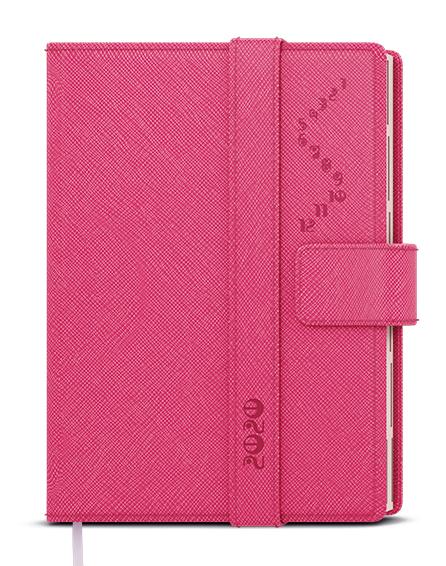 Denní diář - Ctirad - s výsekem - manager color - A5 - růžová