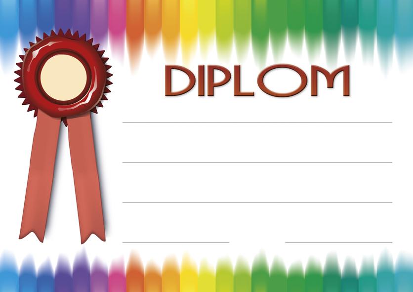 Diplom A4 Barvy