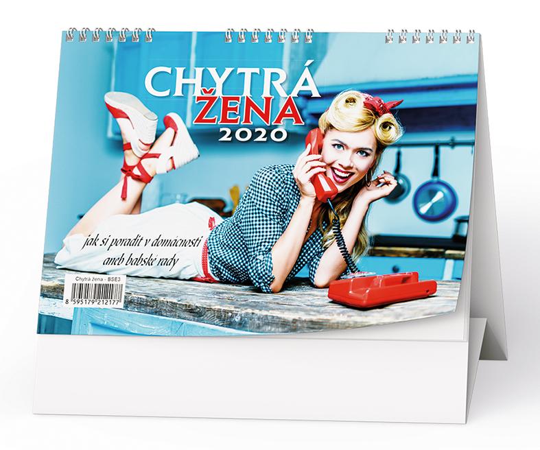 Stolní kalendář - Chytrá žena