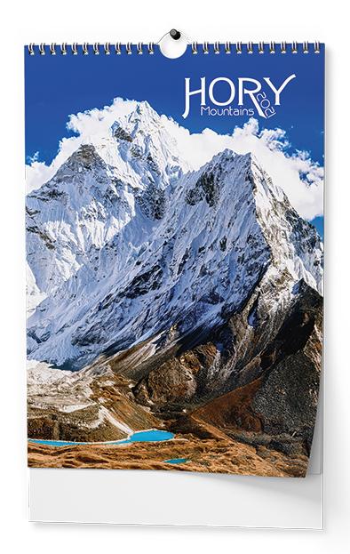 Nástěnný kalendář A3 - Hory, BALOUŠEK, BNG6