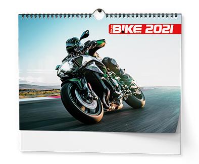 Nástěnný kalendář A3 - Motorbike, BALOUŠEK, BNE1