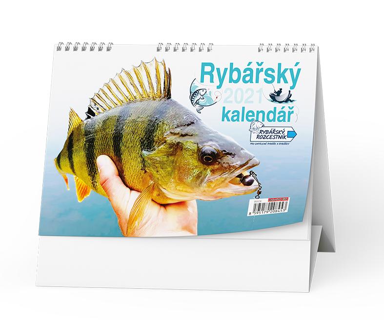 Stolní kalendář - Rybář, BALOUŠEK, BSC6