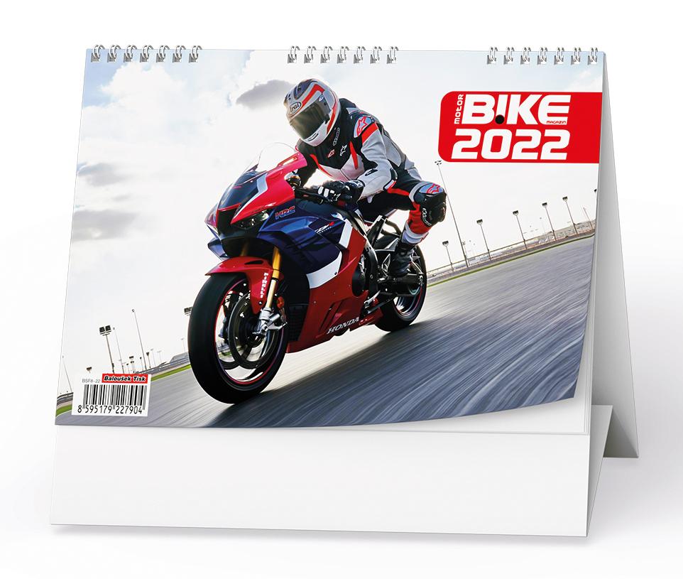 Stolní kalendář - Motorbike
