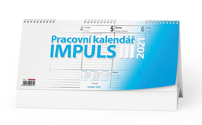 Stolní kalendář - Impuls III., BALOUŠEK, BSM3