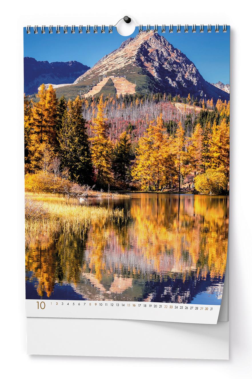 Nástěnný kalendář - Tatry - A3