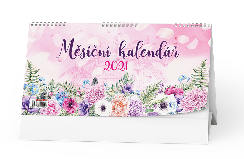Stolní kalendář - Měsíční kalendář