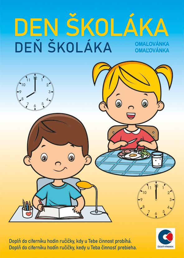 Omalovánka  - A5 - Den školáka