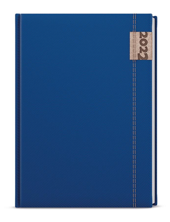 Týdenní diář - Oskar - denim - A5 - modrá