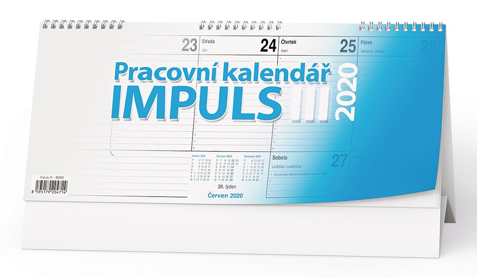 Stolní kalendář - Impuls III.