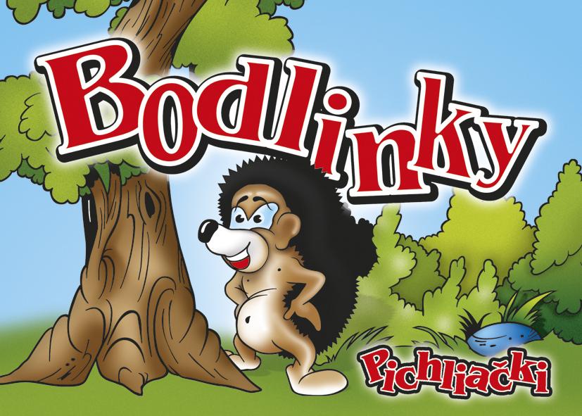 Omalovánka A5 - Bodlinky