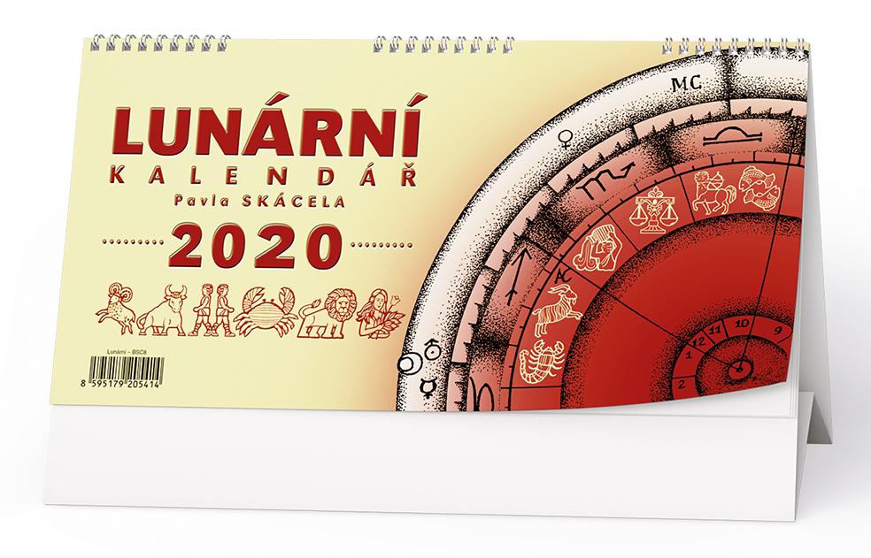 Stolní kalendář - Lunární kalendář Pavla Skácela
