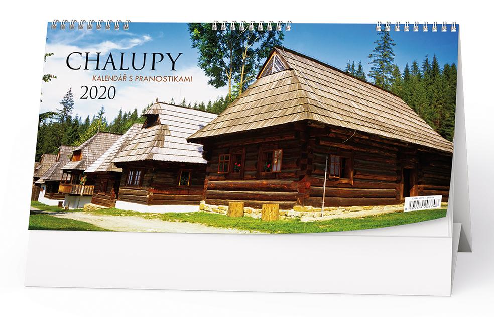 Stolní kalendář - Chalupy