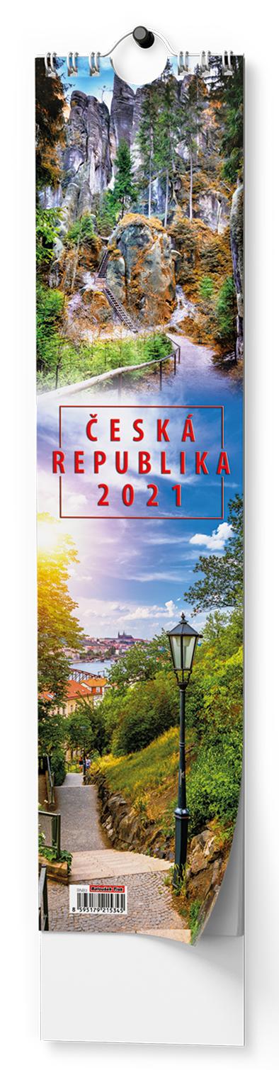 Nástěnný kalendář - Kravata - Česká republika, BALOUŠEK, BNB3