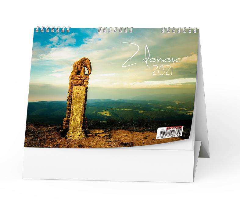 Stolní kalendář - Z domova