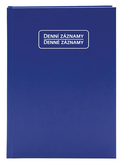 Denní záznamy - A5 - modrý