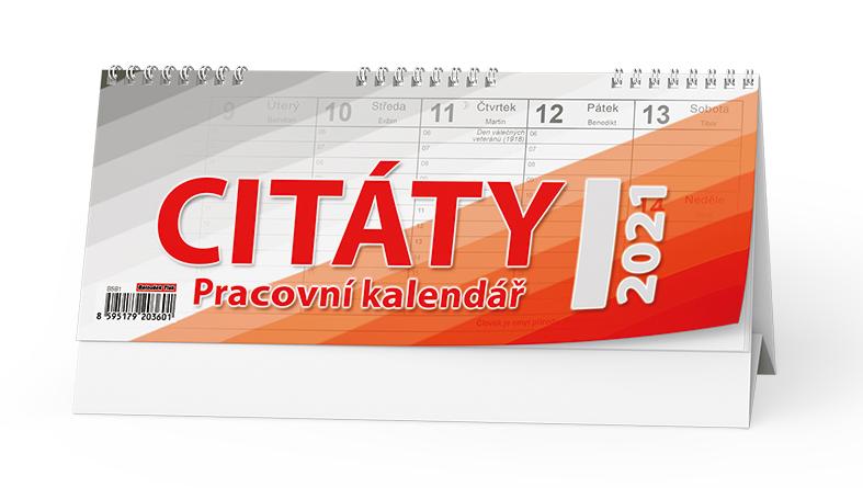 Stolní kalendář - Citáty I., BALOUŠEK, BSB1