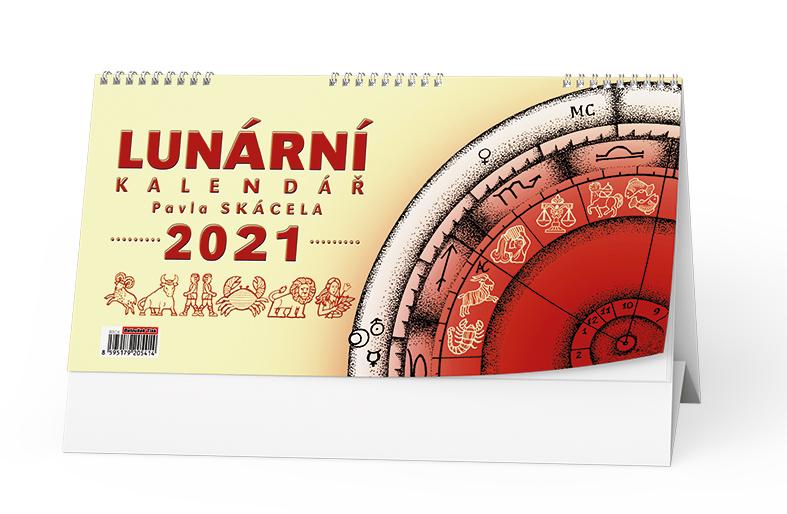 Stolní kalendář - Lunární kalendář Pavla Skácela, BALOUŠEK, BSC8