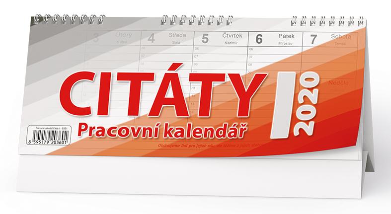 Stolní kalendář - Citáty I.