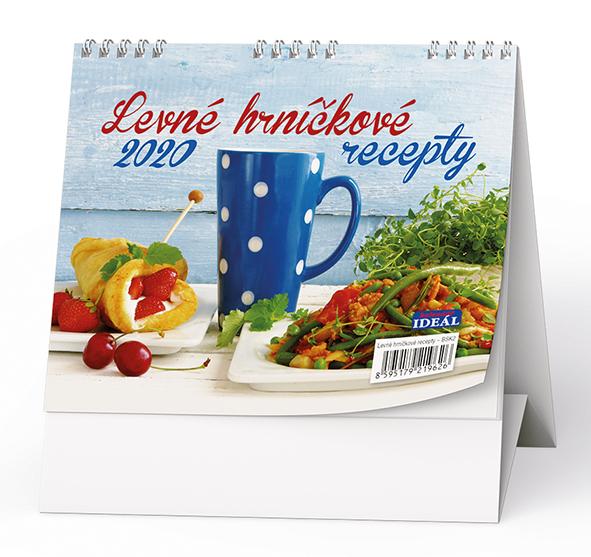Stolní kalendář - IDEÁL - Levné hrníčkové recepty