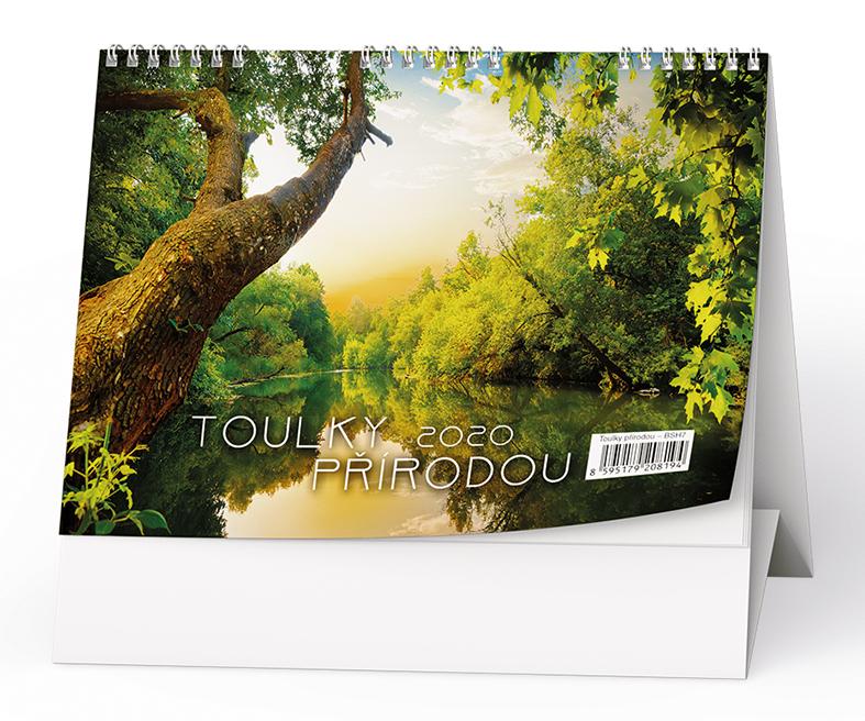 Stolní kalendář - Toulky přírodou